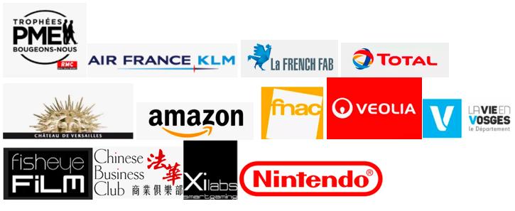 Logos clients grandes entreprises