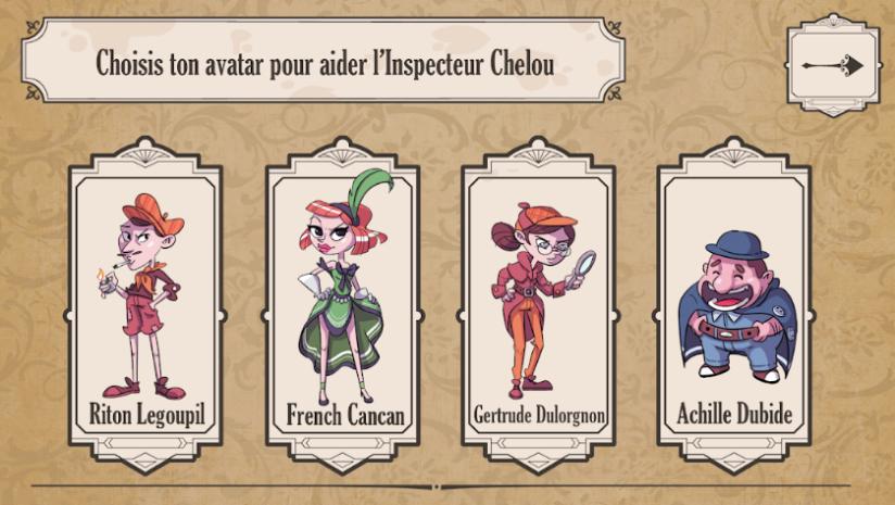 Choisis ton avatar - Les Mystères d'Alfortville