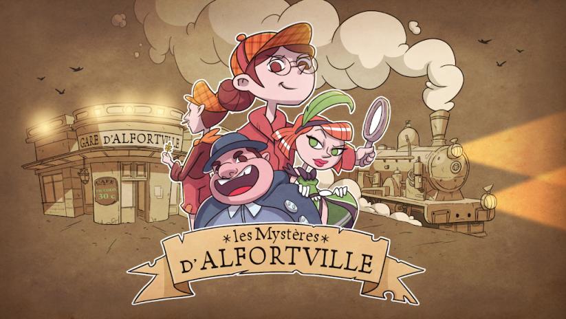 Les Mystères d'Alfortville - Ecran d'accueil